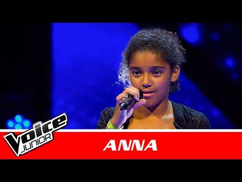 """Anna   """"Purpose"""" af Justin Bieber   Blind 1   Voice Junior Danmark 2016"""