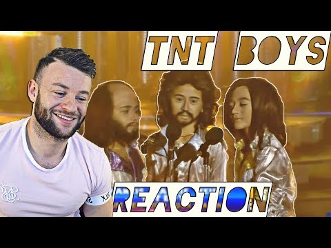Reacting to the TNT Boys  Listen & Too Much Heaven as the Bee Gees    AMAZING !