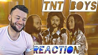 Reacting to the TNT Boys - Listen & Too Much Heaven as the Bee Gee's  |  AMAZING !