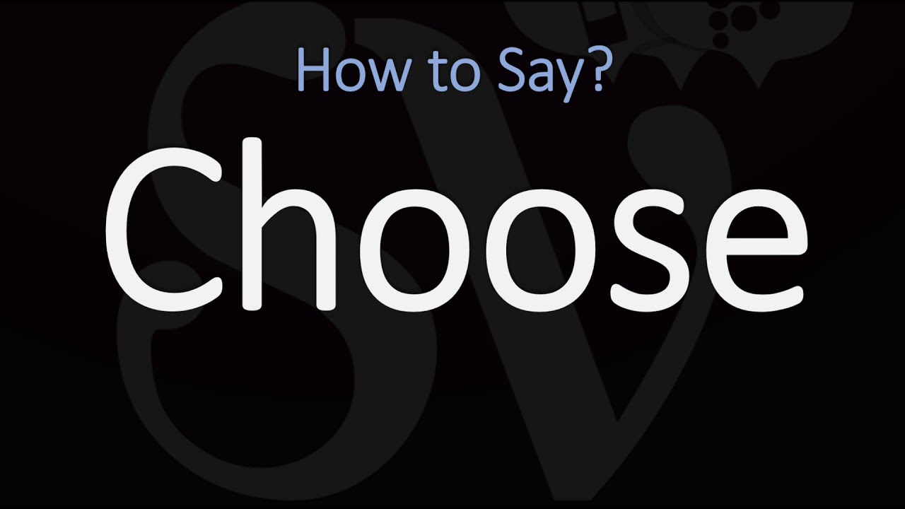 How to Pronounce Chose? (CORRECTLY)