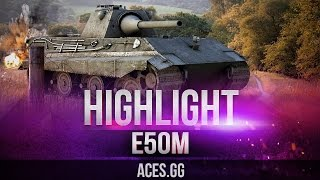 E 50 Ausf. M тащит катку в World of Tanks на Лайв ОКС!