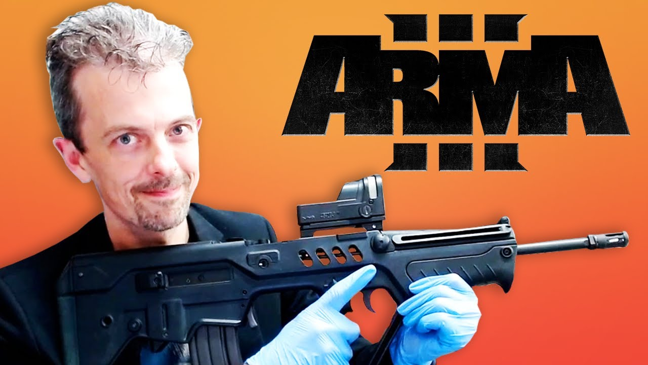 Download Firearms Expert Reacts To ARMA 3's Guns