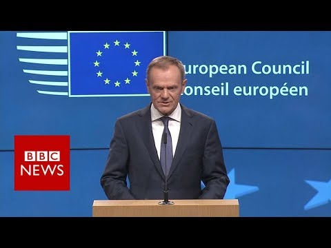 EU president: 'Breaking up is hard' - BBC News