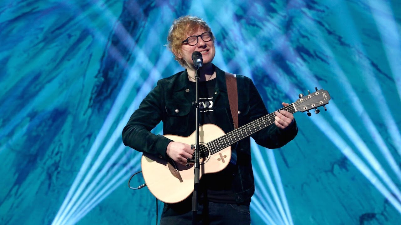 Ed sheerans perfect performance youtube ed sheerans perfect performance stopboris Images