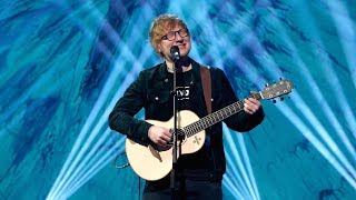 ed sheerans perfect performance