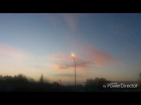 10/03/17 Geo-engineering Belgium. Sunrise.