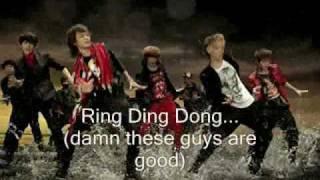 SHINee-  Ring Ding Dong Parody