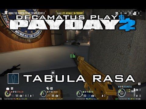 Payday 2 Tabula Rasa Achievement Guide