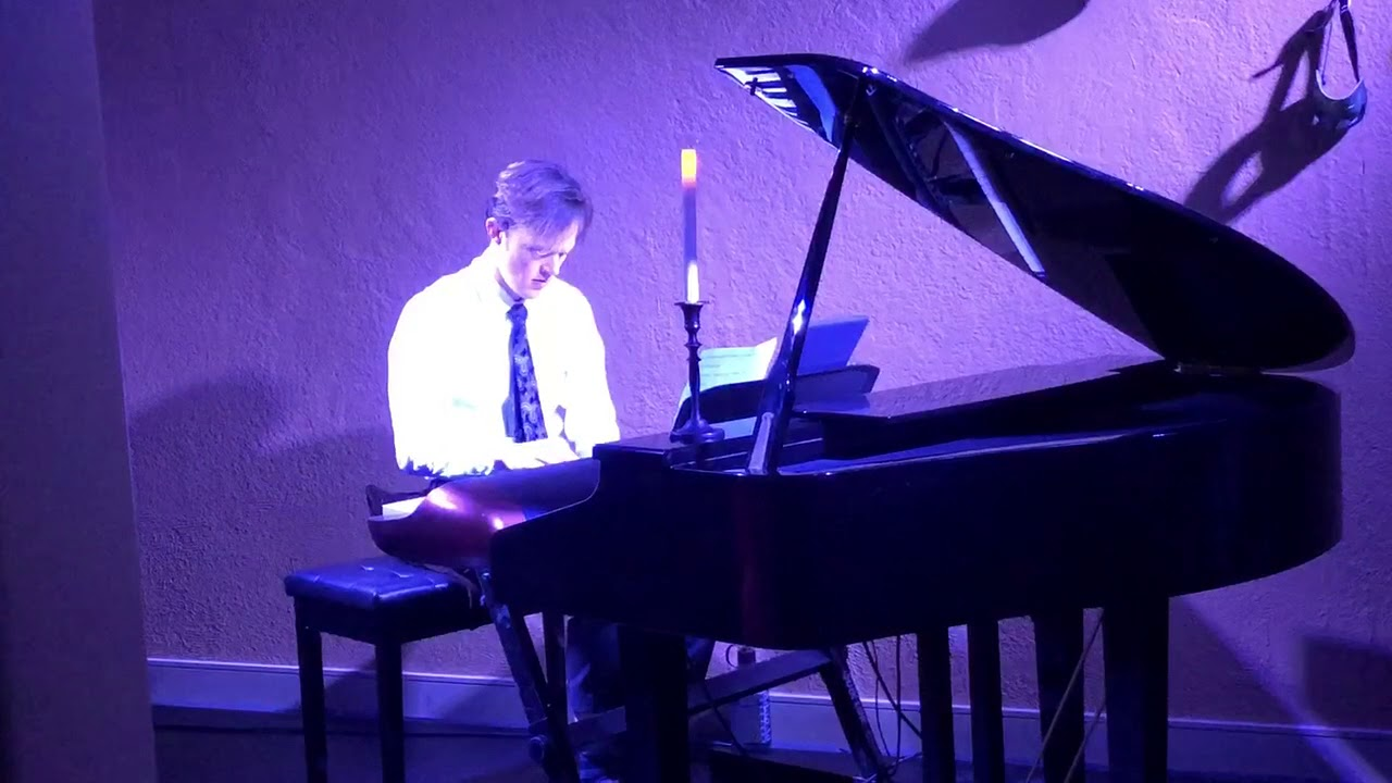 Watch Pianist Dustin Callahan Perform