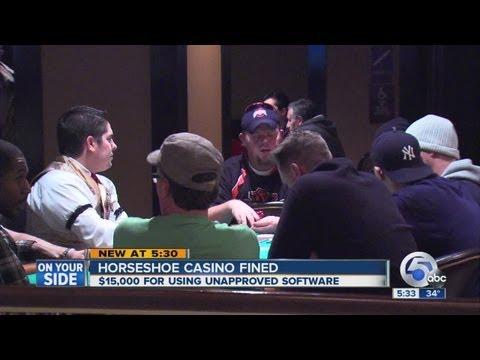 Casino Commission Fines Horseshoe Cleveland