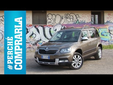 Skoda Yeti 2014 Perch comprarla... e perch no