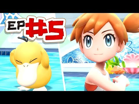 Pokémon Lets Go Pikachu Lets Play - Episode #5 - Gym Leader Misty