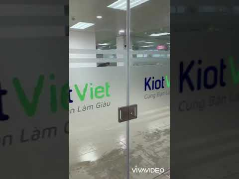 Giấy dán kính mờ văn phòng Kiot Viet