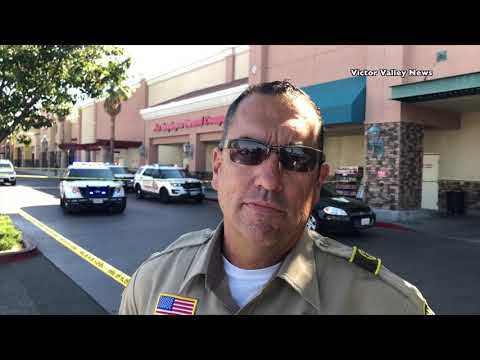 shots fired inside Winco in Apple Valley