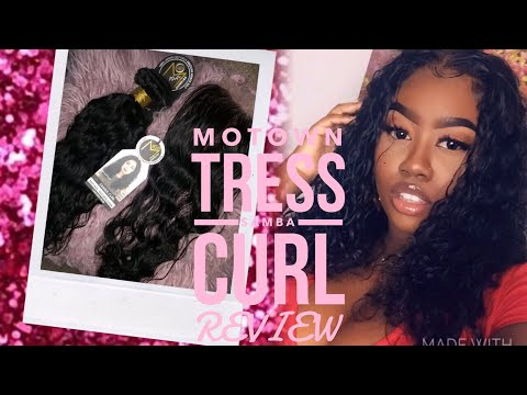 I Made A Wig With Beauty Supply Store Bundles! Motown Tress 10A+ Samba Curl Review| THE TASTEMAKER