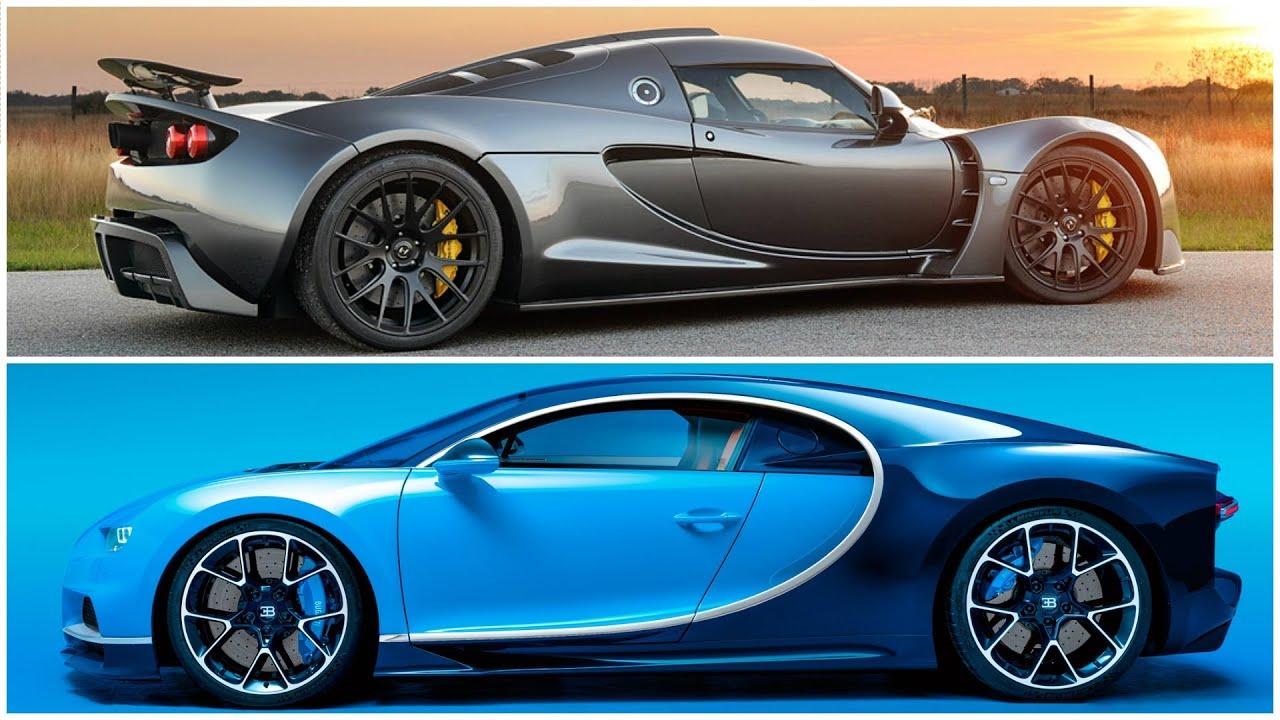 Venom Gt 2017 >> Bugatti Chrion 2017 Vs Hennessey Venom Gt Top Speed Race Youtube