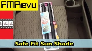 Safe Fit Sun Shade |  How to Install Auto Window Blinds(Safe Fit Sun Shade | How to Install Auto Window Blinds As the summer heat beats down you will need ways to stay cool. These