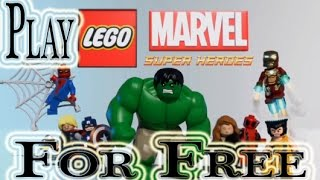 How to get LEGO Marvel Super Heroes for free on PC [Window 7/8] [Works 100%]