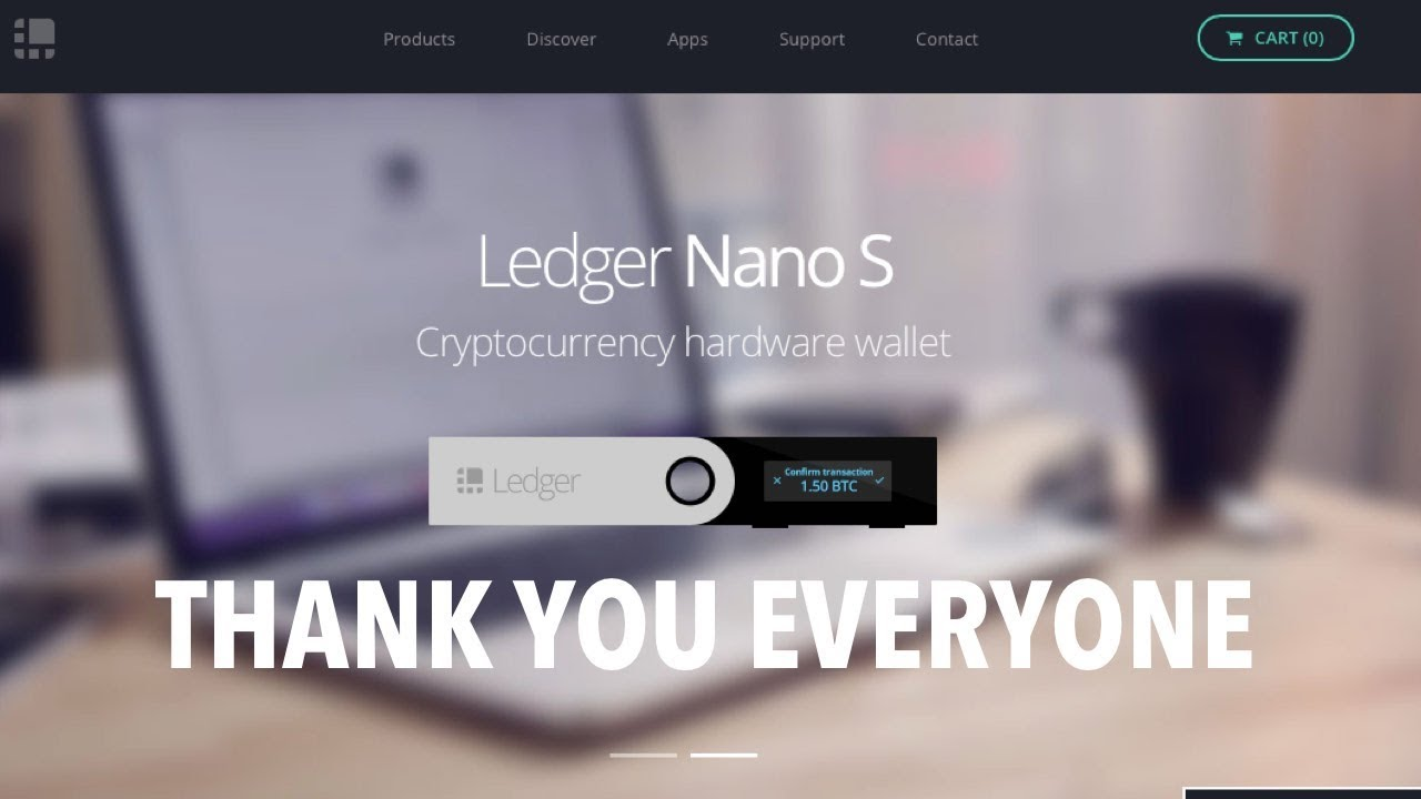 how to store cryptocurrency on ledger nano s