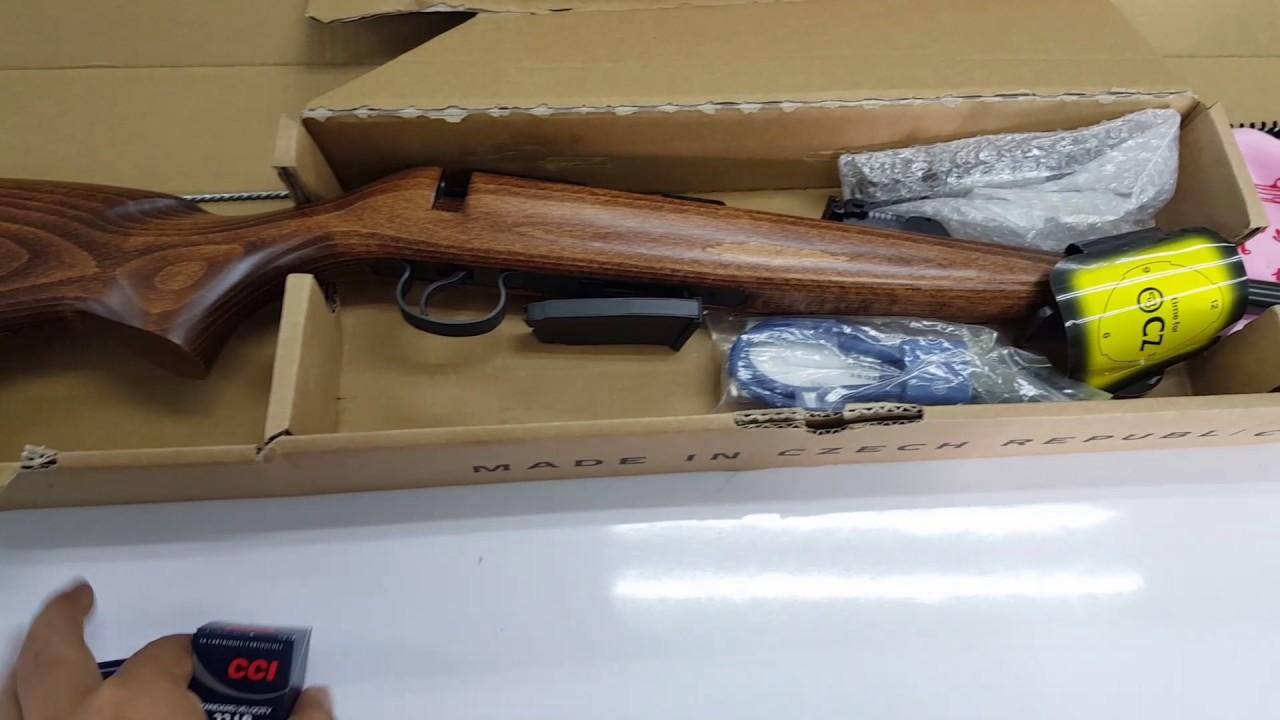 CZ. 455 ปืนยาวกระบอกแรก
