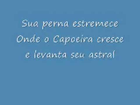 Capoeira que tem sangue na veia (lyrics) - letra