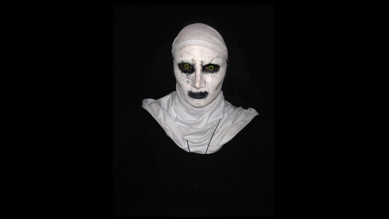 maquiagem a freira invoca o do mal 2 youtube. Black Bedroom Furniture Sets. Home Design Ideas