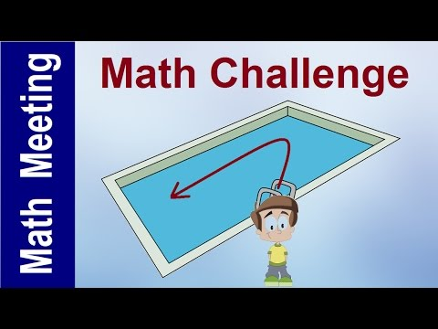 Math Challenge - Shrinking Pool Problem - YouTube