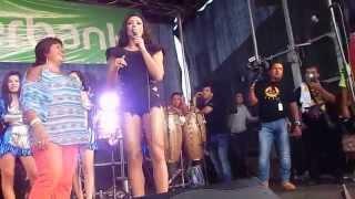 Michelle Soifer en Festival Peruano vip 2014 NJ USA