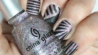 Nail Art With Striping Tape