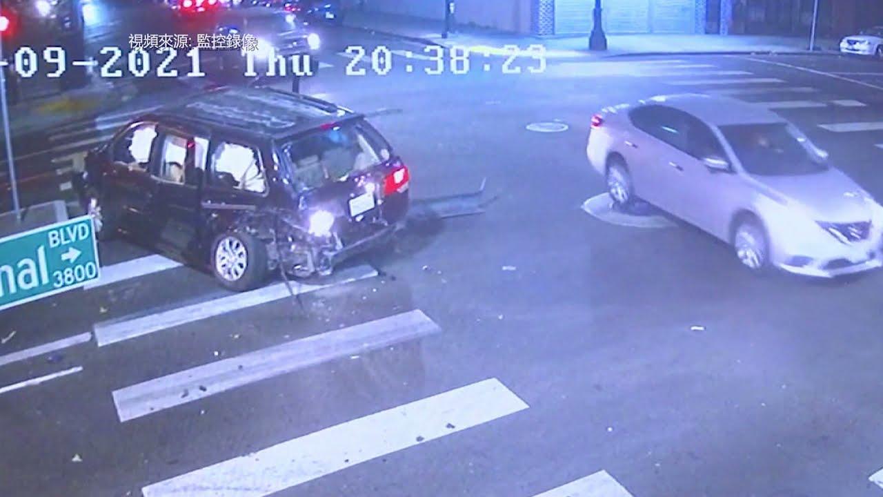 屋崙市: 一名疑似酒後駕駛司機撞到房車 6名兒童受傷