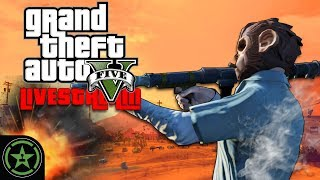 Achievement Hunter Live Stream - GTA V Online