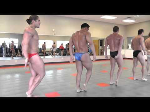 '12 Ohio: Mens Bodybuilding. 1 week out posing practice