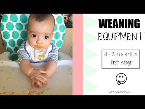 Weaning Equipment: 4-6 Months (First Stage) | Ysis Lorenna