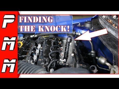 How to EASILY Diagnose Engine Connecting Rod Knock! Spun Rod Bearing