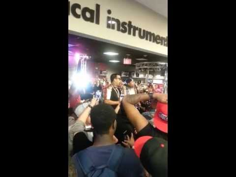 Best Buy In-Store French Montana 'Excuse My French' Album Release Performance (Part 1)