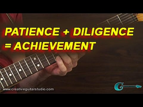 PRACTICE & TRAINING: Patience + Diligence = Achievement
