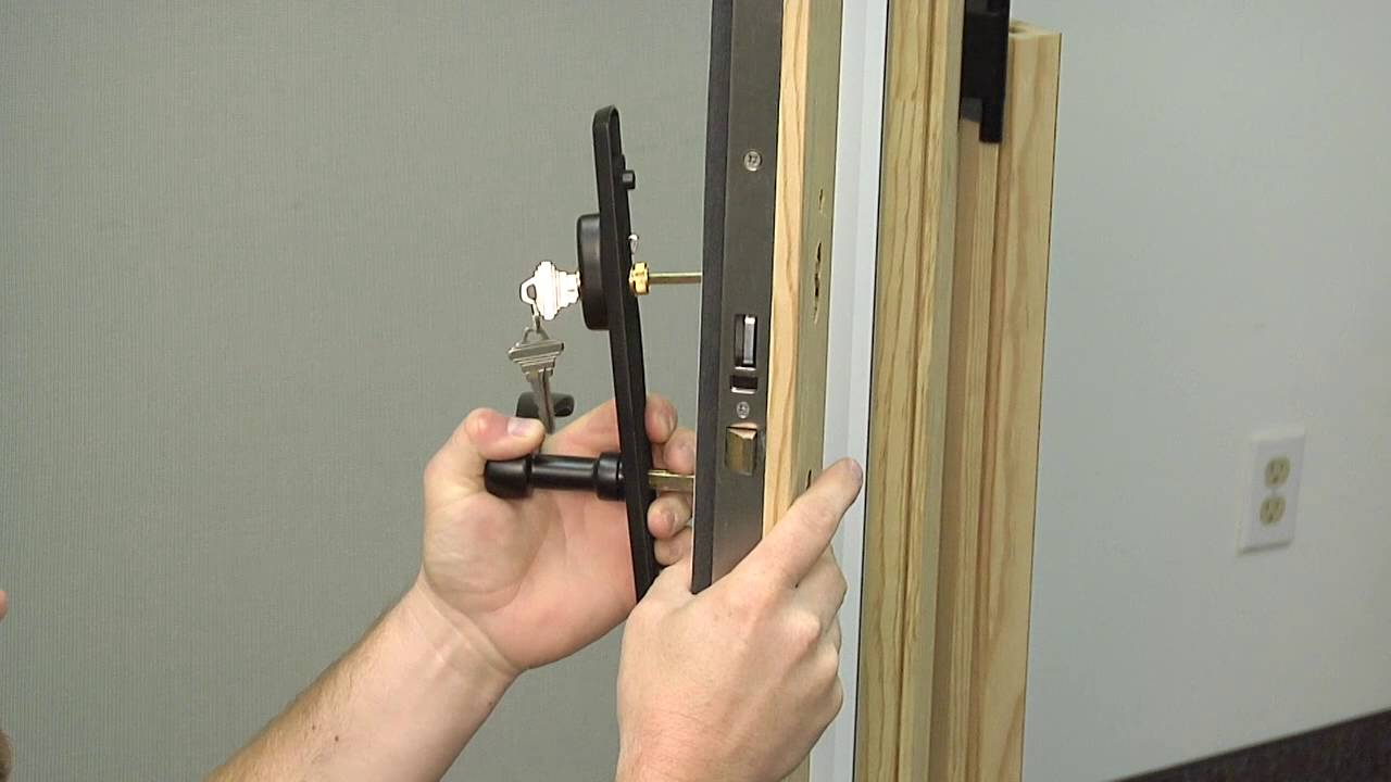 How To Replace The Single Point Lock On A Siteline Wood Sliding Patio Door