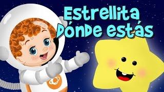 ESTRELLITA DÓNDE ESTÁS CANCIÓN INFANTIL EN ESPAÑOL, canciones infantiles