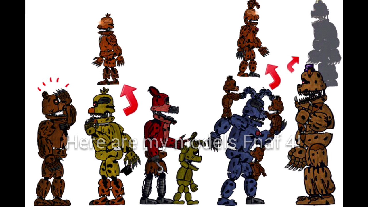 Download The Free Model Fnaf 4 Animating Touch 2 Youtube