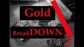 Gold & Silver Price Update - July 18, 2018 + Gold Breaks Down