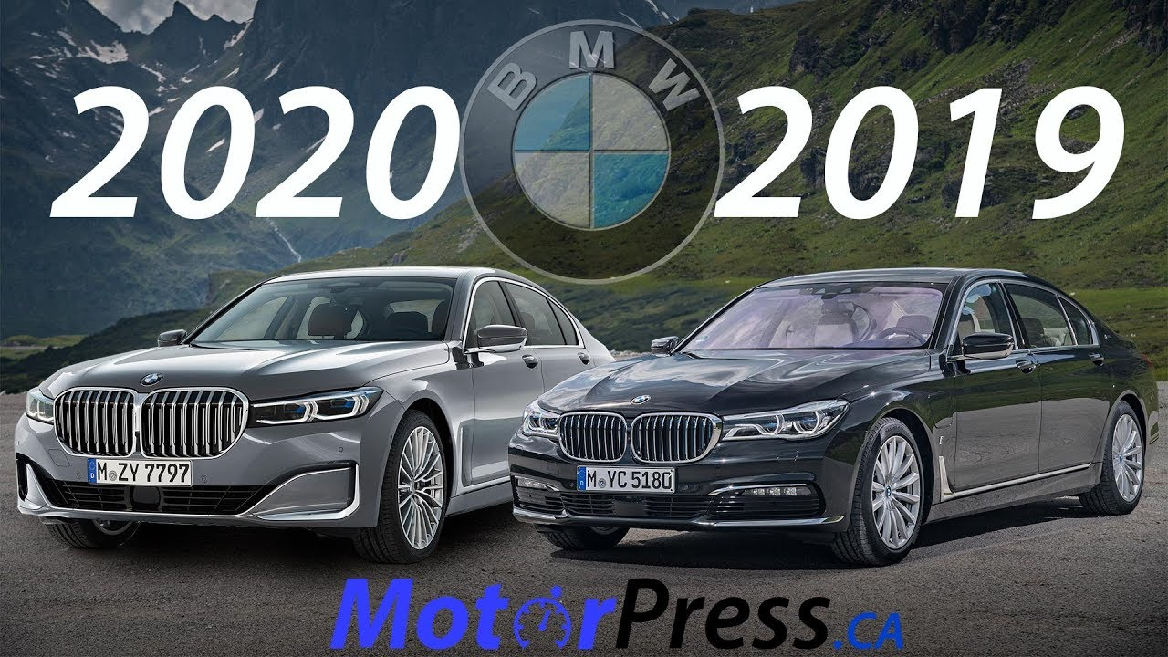 2020 Vs 2019 Bmw 7 Series What Is Changing