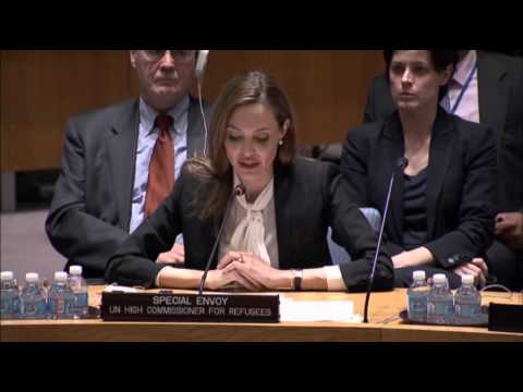 Jolie Urges U.N. to Halt Wartime Sex Crimes