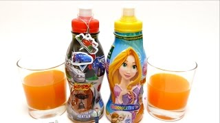 Surprise Drinks - Disney Princess & Cars - Surprise Egg Bottle with FROZEN Toy