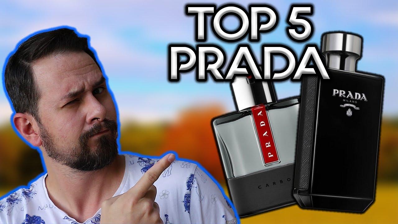 TOP 5 PRADA FRAGRANCES FOR MEN   BEST PRADA FRAGRANCES