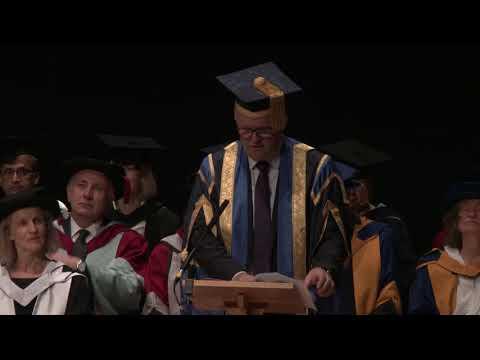Cambridge graduation ceremony (11am), 20 October 2017