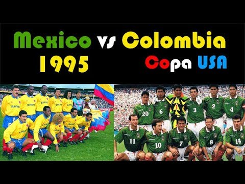 Colombia Vs Mexico  Youtube