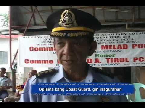 Opisina kang Coast Guard gin-inagurahan