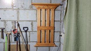 видео Деревянная вешалка (плечики) для костюма. Купить