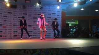 Michael Jackson Impersonator Pavel Talalaev Smooth Criminal