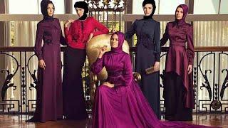 فساتين سهرة للمحجبات 2015 hijab fashion style